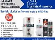 Servicio tecnico & mantenimiento de termas electricas/gas rhemm 7222079