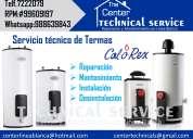 Technical service* servicio técnico de termas  calorex*a gas y electricas a domicilio