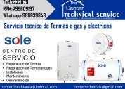 Tecnicos(mantenimiento de termas a domicilio) tlf .722-2079/autorizado