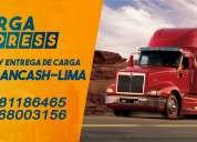 Transporte de carga lima- ancash- lima somos propietarios directos