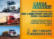 Transporte de carga terrestre- zona norte del perÚ