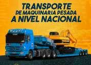 Transporte de maquinaria pesada - camasbajas-plataformas-remolques-lima perÚ