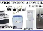 Servicio tecnico whirlpoo lavadora 4476173