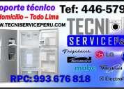Servicio tecnico de refrigeradoras whirlpool daewoo peru 446-5798