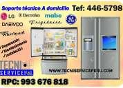 Servicio tecnico de refrigeradoras general electric 446-5798