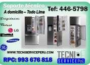 servicio tecnico de refrigeradoras lg frigidaire 446-5798