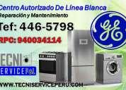 san borja /446-5798/ servicio tecnico de lavadoras general electric