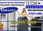 san borja /446-5798/ servicio tecnico de lavadoras samsung bosch