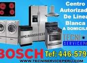 San borja /446-5798/ servicio tecnico de lavadoras bosch kenmore