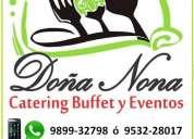 Catering buffet & eventos doÑa nona