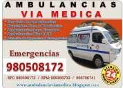 Servicio de ambulancias traslados de pacientes lima y provincias