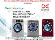 Servicio tecnico /♥ reparación de lavadoras daewoo ♦2748107 ♠&;mantenimiento