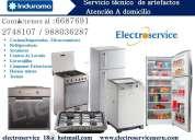 Servicio tecnico y reparacion de refrigeradoras  cocinas indurama 2748107  lima