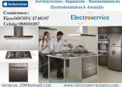Servicio tecnico mantenimiento  indurama 6687691 cocinas - lima