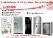 Bosch  refrigeradoras reparación / servicio técnico/ mantenimiento / 6687691