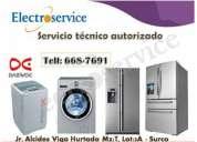Servicio técnico de refrigeradoras  daewoo=  6687691 / autorizados en lima
