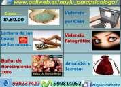 Quirologa y parapsicologa experta en videncia