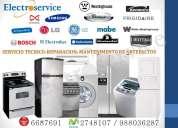 Mantenimiento reparación  servicio técnico 6687691 de electrodomésticos en lima electroservice