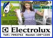 servicio técnico de lavadoras // secadoras electrolux - 7992752 ((san miguel))