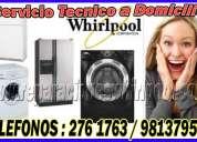 S.o.s. tÉcnicos whirlpool en san borja 7992752