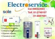 Servicio tecnico mantenimientos terma sole 2748107 lima