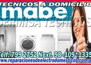 ◘ tecnicos mabe (( 7992752 )) - lavadoras y secadoras (( pueblo libre )) ◘