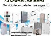 •• ♫=c^especialistas en lima  en termas y termotanques  electricas,a gas 988036287