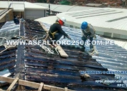 Servicios de instalación membrana