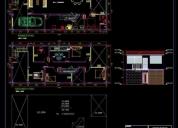 Ingenieros y arquitecto planos de viviendas