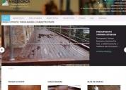 Seo desarrollo paginas web wordpress. contactarse!