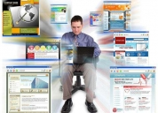 Diseño web . dominio y hosting a 200 soles anuales, lima