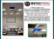 Soporte tecnico de proyectores multimedia, la victoria