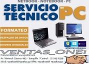 Servicio tècnico,reparaciòn laptops, pc´s