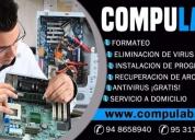 Servicio tecnico profesional de computadoras