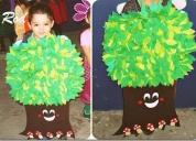Ecologicos disfraz maquetas trajes tipicos muñecos