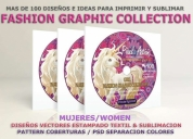 Dvd diseños mujeres estampado textil serigrafía,contactarse.