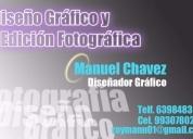Diseñador gráfico retocador fotográfico particular