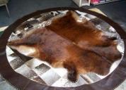 Limpieza de alfombras de cuero de vaca