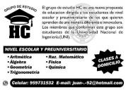 Grupo hc matematicas - fisica - quimica