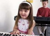 Excelente clase de piano para niños 2015, lima