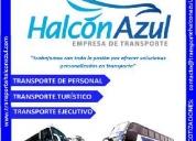 Transporte turístico - movilidad de personal