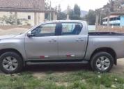 Alquiler de camioneta 4x4 hilux
