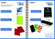 Copy top soluciones digitales, contactarse.lima