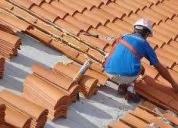 Instalacion de tejas , pastelero y mantenimiento