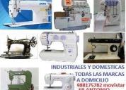 Tecnico de maquinas de coser,contactarse.