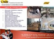 Empresa de ingeniería y construcción, contactarse.