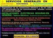 Servicios elÉctricos en general,contactarse.