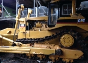 Alquiler de tractor oruga cat d6 r d8 r angulable