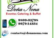 Eventos catering & buffet
