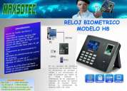 Reloj control de asistencia modelos tk-100 y h8/maxsotec eirl